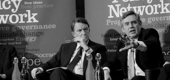 Gordon Brown Peter Mandelson